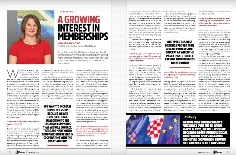 Marija Radulović: A growing interest in memberships